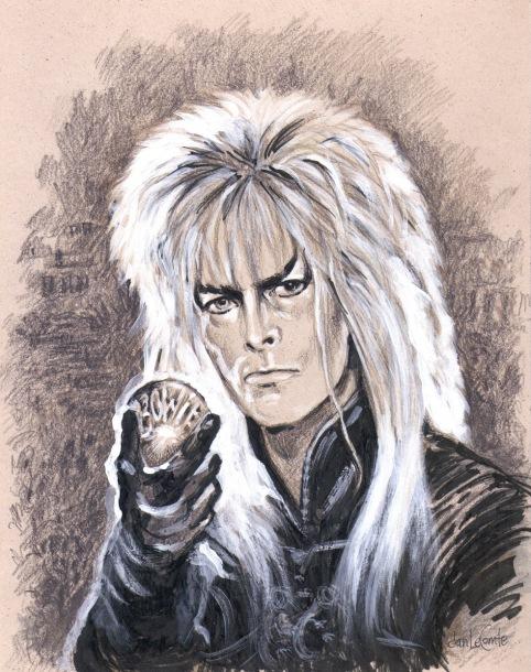 Jan LeComte Bowie labrynth