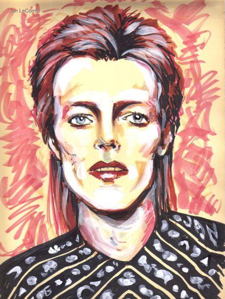 Jan LeComte David Bowie