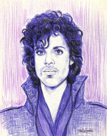 Jan LeComte Prince purple rain