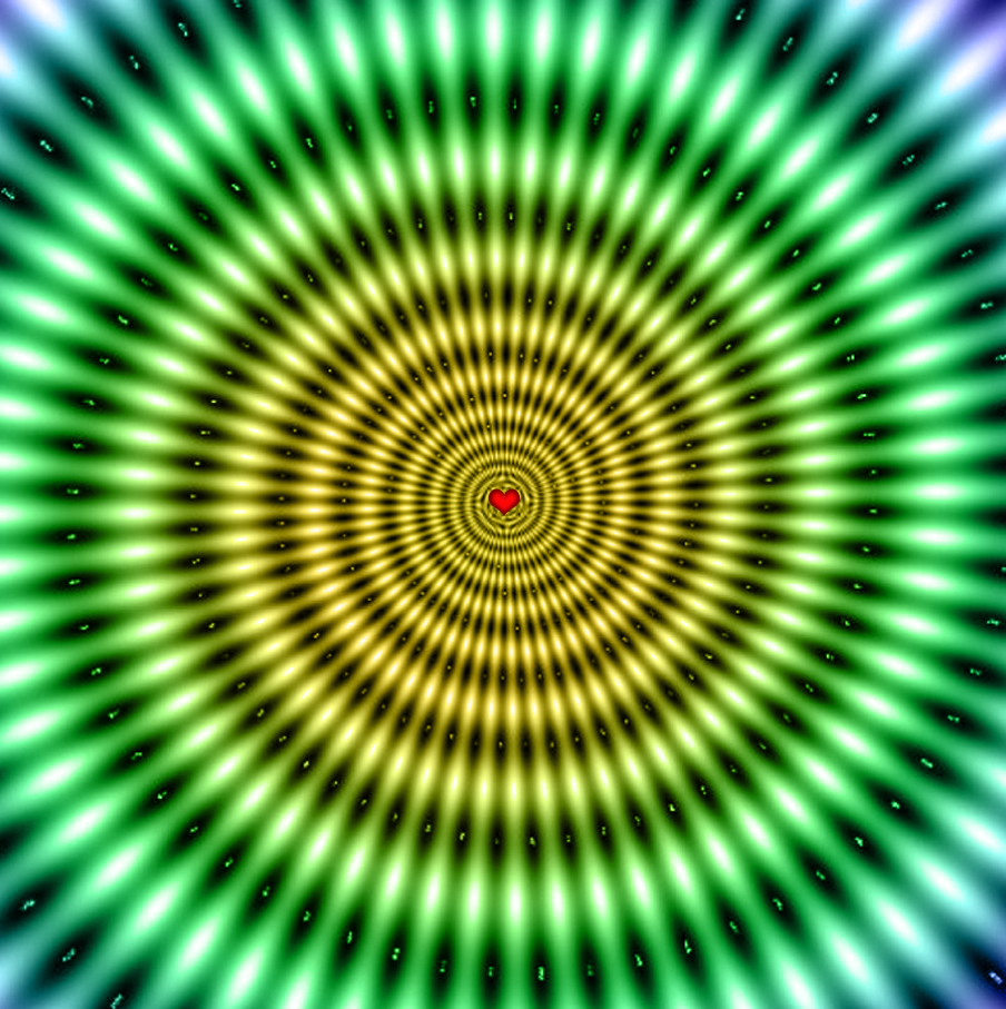 optical illusions illusion eye tricks cool mind teasers nice moving brain fractal visual wow jan amazing app