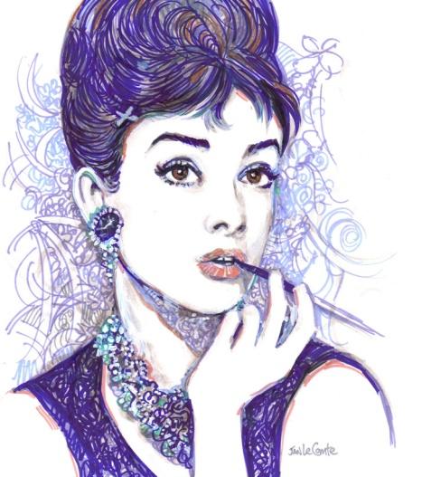 audrey doodle